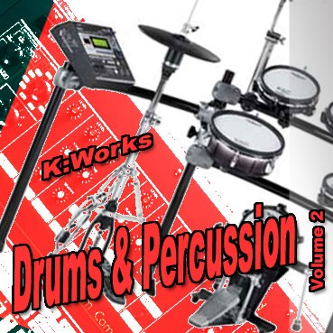 K:Works - Drums & Percussion - Volume 2